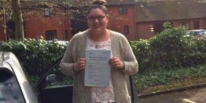 Aimee passed in an automatic