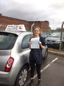 Learn to Drive with Spring N Go, Katie Did!