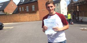 Alfie Passed an Intensive Driving Course